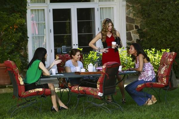 Savi, Joss, Karen and April in Mistresses