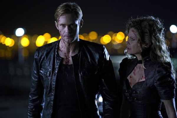 Eric and Pam in True Blood