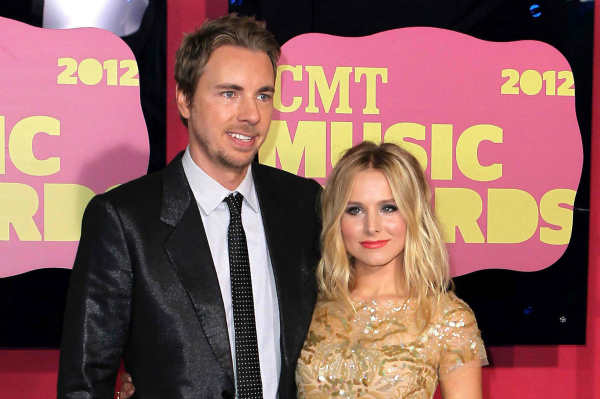 Dax Shepard and Kristen Bell at the 2012 CMT Music Awards