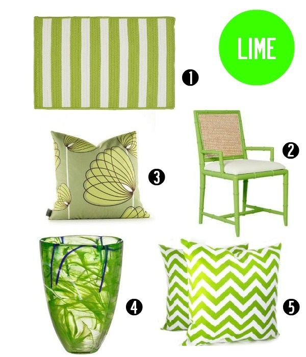 Lime decor
