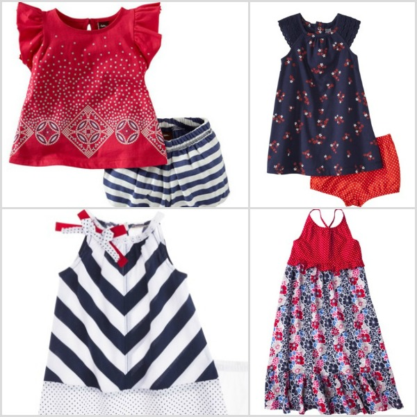 Baby girl outfits - Fourth of July