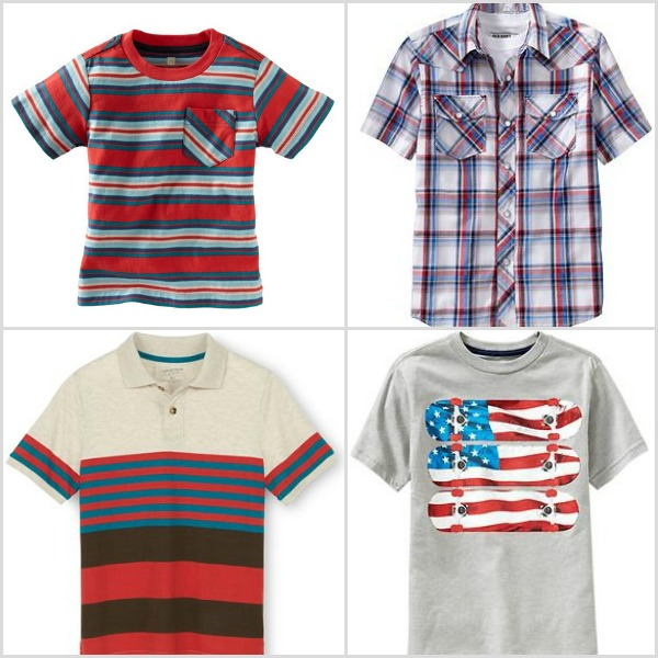 Boys outfits - Fourth of July
