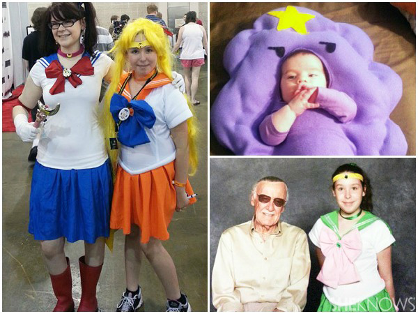 Comic Con - Kids in costumes