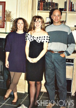 Erin Margolin and her parents