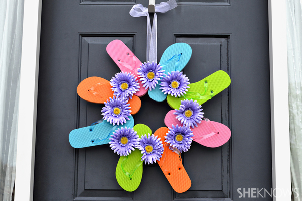 Fun flip flop crafts for kids Summer craft ideas for adults