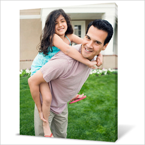 Last minute Father's Day gifts - Photo canvas
