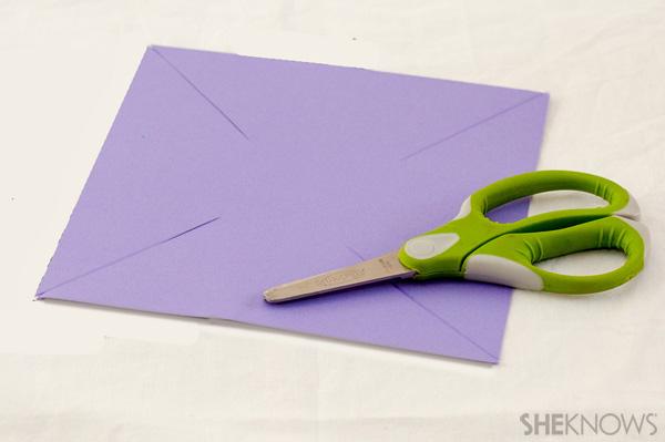 Pinwheel craft slits
