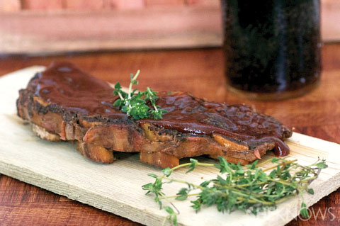 Cherry coke slow cooked beef ribs