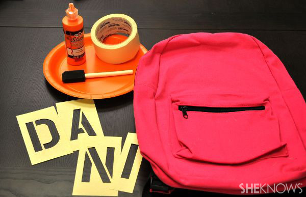 The craftiest way to make a backpack pop!