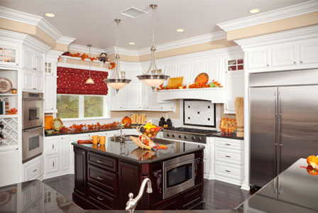 Fall kitchen
