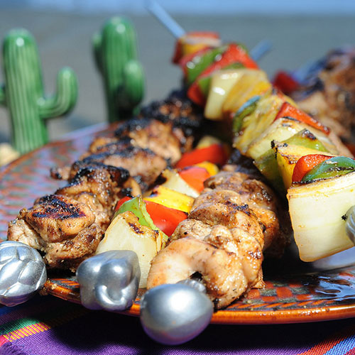 Everyday grilled skewers