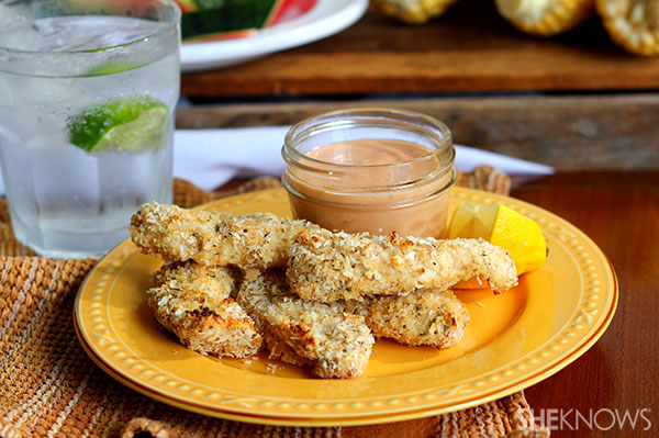 Crispy Baked Chicken Tenders