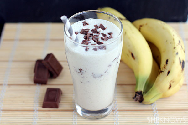 Healthy Banana Chocolate Milkshake
