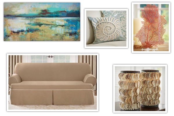 Summer-inspired living room updates