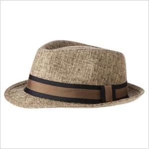 Target Fedora hat