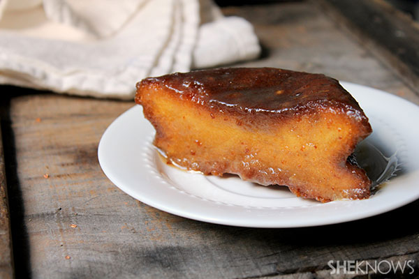 Quick-and-easy rum cake