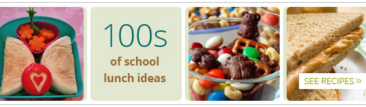 100 of school lunch ideas