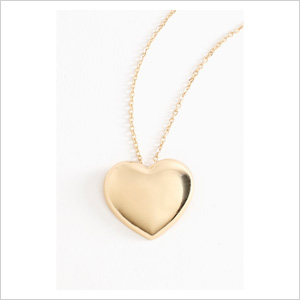 Heart of hold necklace