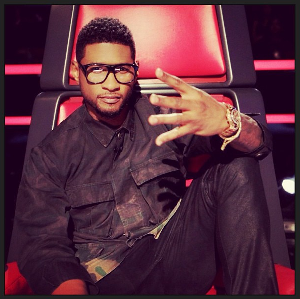 Usher's whirlwind day caught on Instagram
