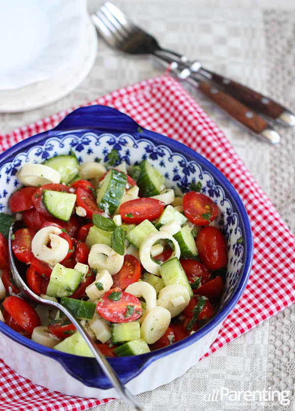 allParenting hearts of palm cucumber tomato salad