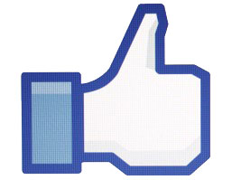 Facebook thumbs-up