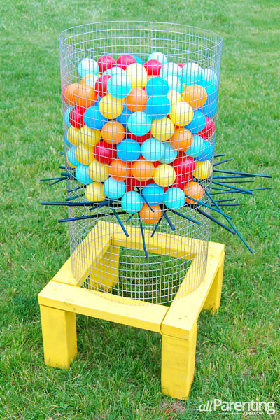 Do-It-Yourself Giant Ker-Plunk Game