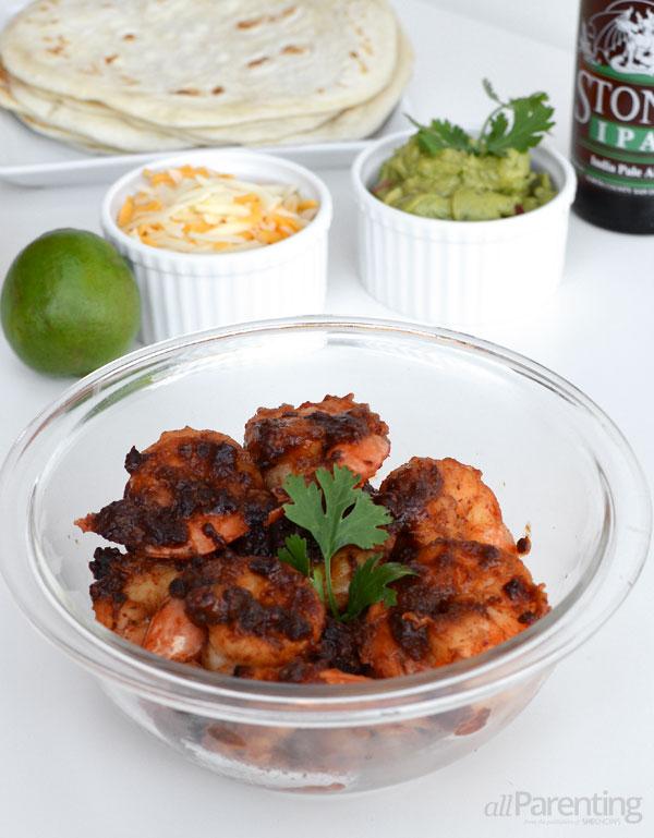 allParenting Tequila chipotle shrimp