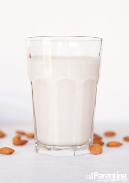 allParenting homemade almond milk