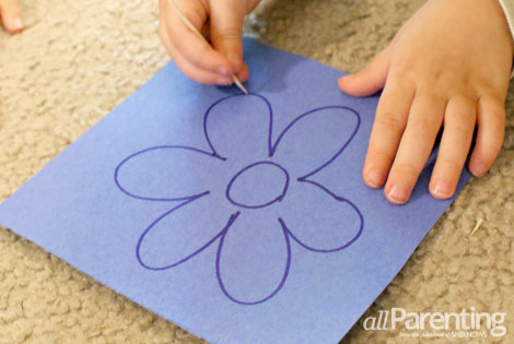 Fine motor skills activities- picture punch