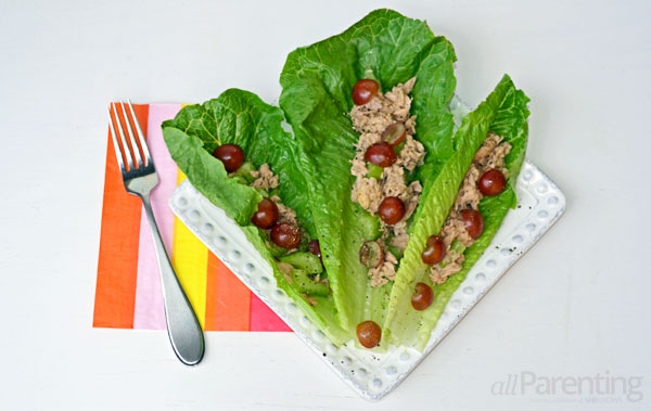 allParenting low-carb meals: wraps