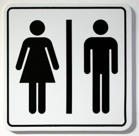 Bathroom Signs Holding Hands boy and girl bathroom signs | my web value