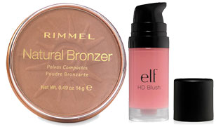 meltproof makeup bronzer and blush products