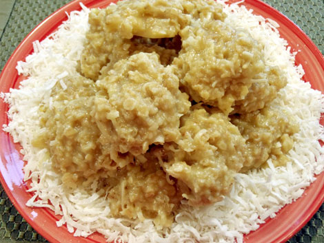 Coconut oatmeal no-bake cookies