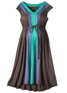 Liz Lange (for Target Maternity) High/Low Hem Colorblock Knit Dress