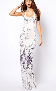 ASOS Only Tie Dye Maxi Dress