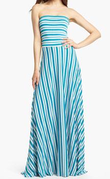 Felicity & Coco's Strapless Stripe Maxi
