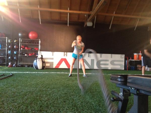 Battle ropes for women