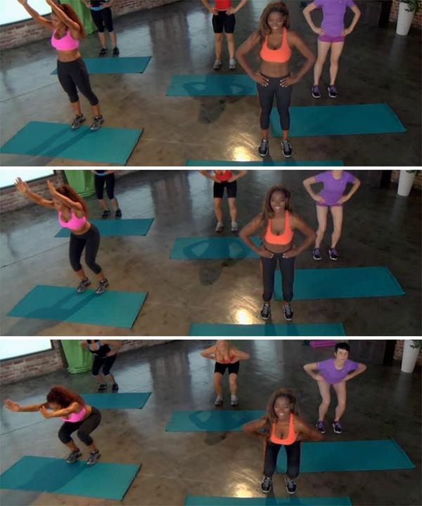 3 stop squat
