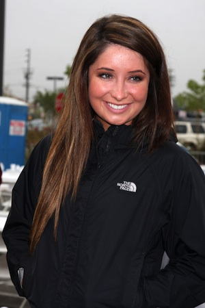 Bristol Palin in casual jacket.