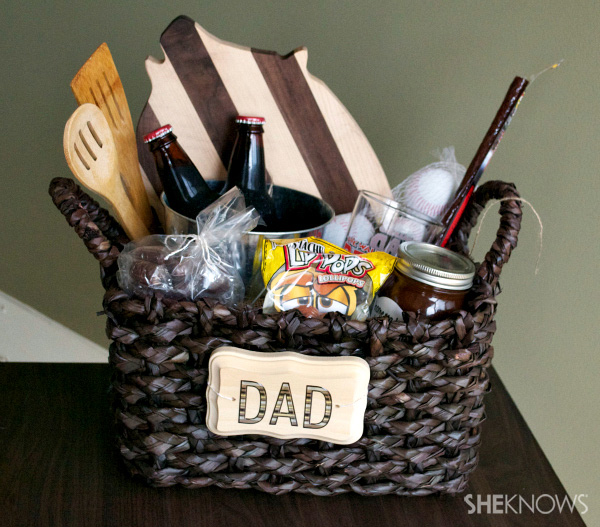 Gift basket for Father's Day