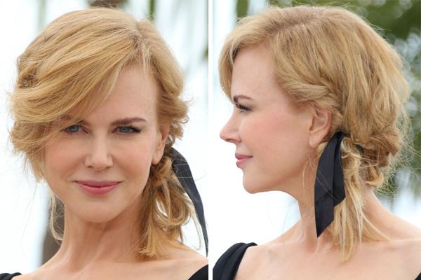 Nicole Kidman's loose locks