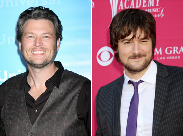 Blake Shelton vs. Eric Church