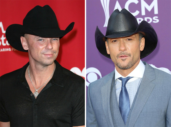 Kenny Chesney vs. Tim McGraw