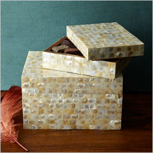 Decorative Box Recommendation: Mother of Pearl Boxes