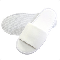Slipper Recommendation: Cotton Terry Open Toed Slipper