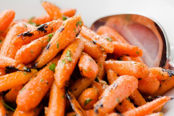 Crunchy, sweet carrots