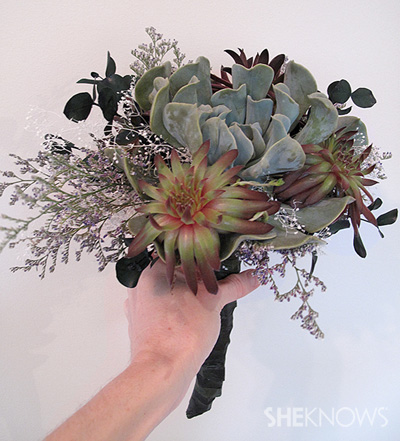 wedding bouquet you can plant!