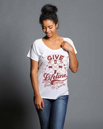 Give a Lifeline shirt from Sevenly