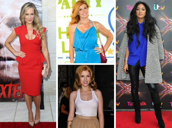 More celebs spotted in style