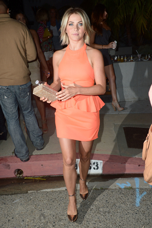 Julianne Hough at the the Svedka Splash of Summer Party